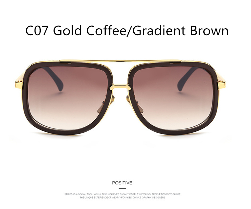 1 (19)brown gradient sunglasses men