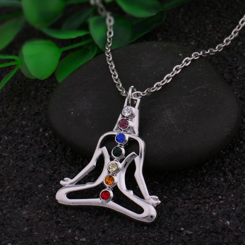 Meditation Chakra Healing Necklace 2