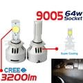 Envío gratis 2x 12 - 24 V 9005 3200LM 6500 K CREE LED proyector bombilla faro luz niebla venta