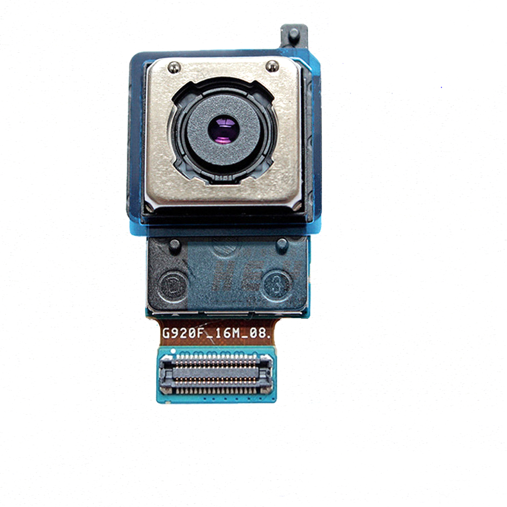 High Quality For Samsung Galaxy S6 G920 G920F Back Rear Camera Module Big Main Camera 16MP