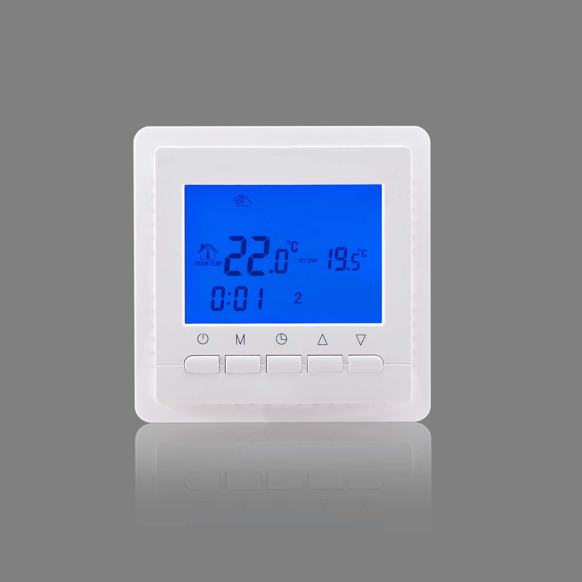 16A Warm Floor digital weekly programmable Thermostat Temperature Controller underfloor heating Thermometer  LCD Display graceful sleeveless pointelle solid color dress for women