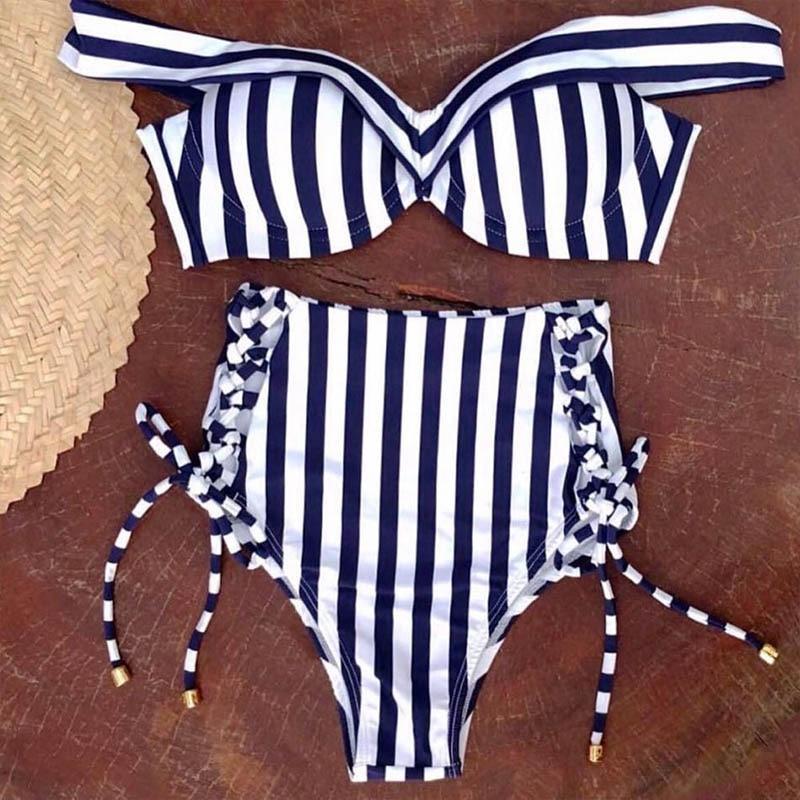 High-Waist-Bikini-Women-Swimwear-Push-Up-Swimsuit-Striped-Two-Pieces-Bikini-Set-Halter-Bathing-Suit (4)