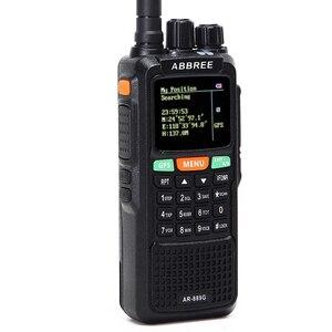 Image 2 - Abbree AR 889G GPS SOS Máy Bộ Đàm 10W 999CH Đêm Đèn Nền Duplex Repeater 2 Băng Tần Kép Nhận Ham Săn Bắn CB đài Phát Thanh