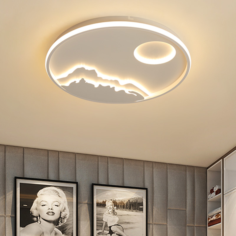 Surface Mounted Modern Led Ceiling Lights For Bed room Study room home lighting Ironware+Acrylic Ceiling Lamp lampara techo цена