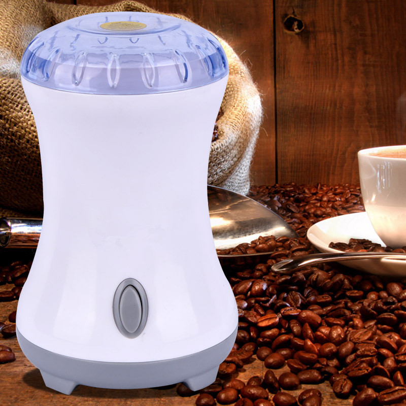 Electric Coffee Grinder Coffee Maker with Stainless Steel Blades Beans Mill Herbs Nuts Moedor de Cafe Home Appliances stainless steel coffee scoop with bag clip