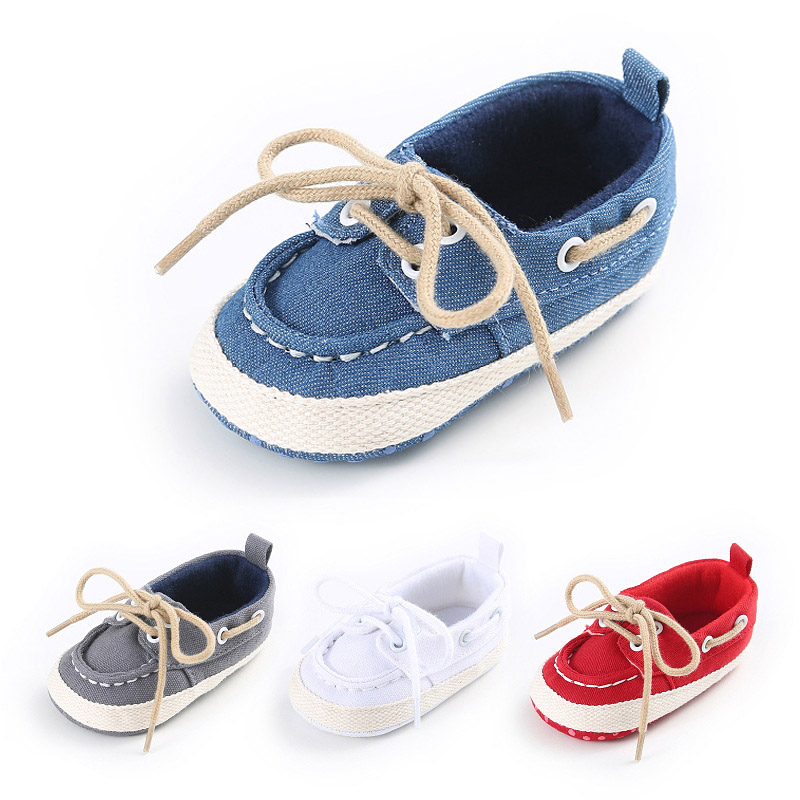 New Spring Autumn Baby Shoes Newborn Boys Girls Soft Soles ...
