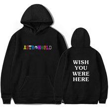 LUCKYFRIDAYF Harajuku hip hop Travis Scotts ASTROWORLD Sweatshirt Hoodies streetwear style winter Hoodie felpe Tracksuit Clothes
