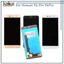 Лучшие ЖК-дисплей Дисплей для Huawei y6pro tit-u02 Y6 Pro tit-al00 + 5.0 «Сенсорный экран планшета Ассамблеи Замена для Huawei y6pro y6 pro