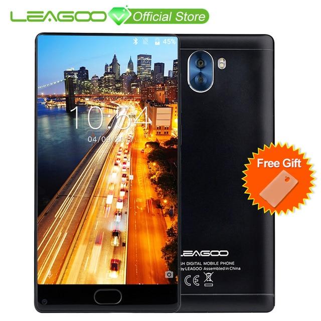 """Leagoo kiicaa микс 5.5 """"ободок-менее Дисплей Android7.0 MTK6750T восьмиядерный смартфон 3 ГБ Оперативная память 32 ГБ спереди отпечатков пальцев телефон"""