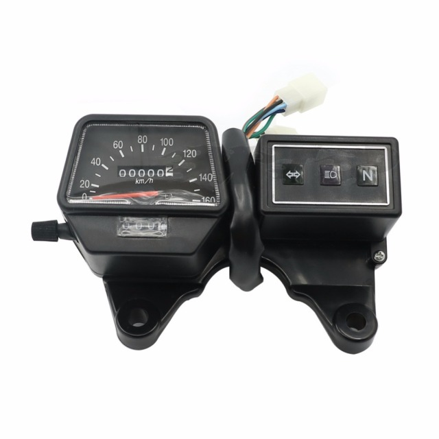 TW200 Motorcycle Speedometer Instrument Gauges Tachometer Odometer Case Speed Meter For Yamaha TW 200_640x640 tw200 motorcycle speedometer instrument gauges tachometer odometer tw200 fuse box at eliteediting.co