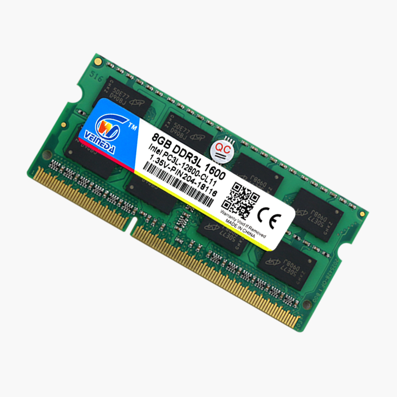 VEINEDA Laptop Ram DDR3L 8GB/4GB/2GB Compatible With All Motherboard 3