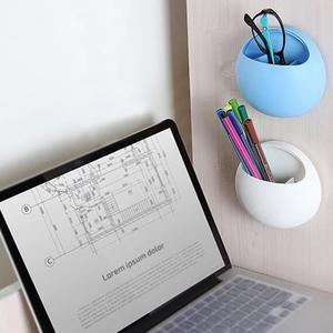 Image 4 - Zahnbürste Halter Stift Gläser Halter Wand Saugnäpfe Dusche Halter Nette Sucker Saug Haken Badezimmer Zubehör Set #0305