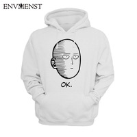 One Punch Man Hoodies Anime ONE Oppai Hoodies ONE PUNCH MAN Re Make Fleece Jacket Harajuku