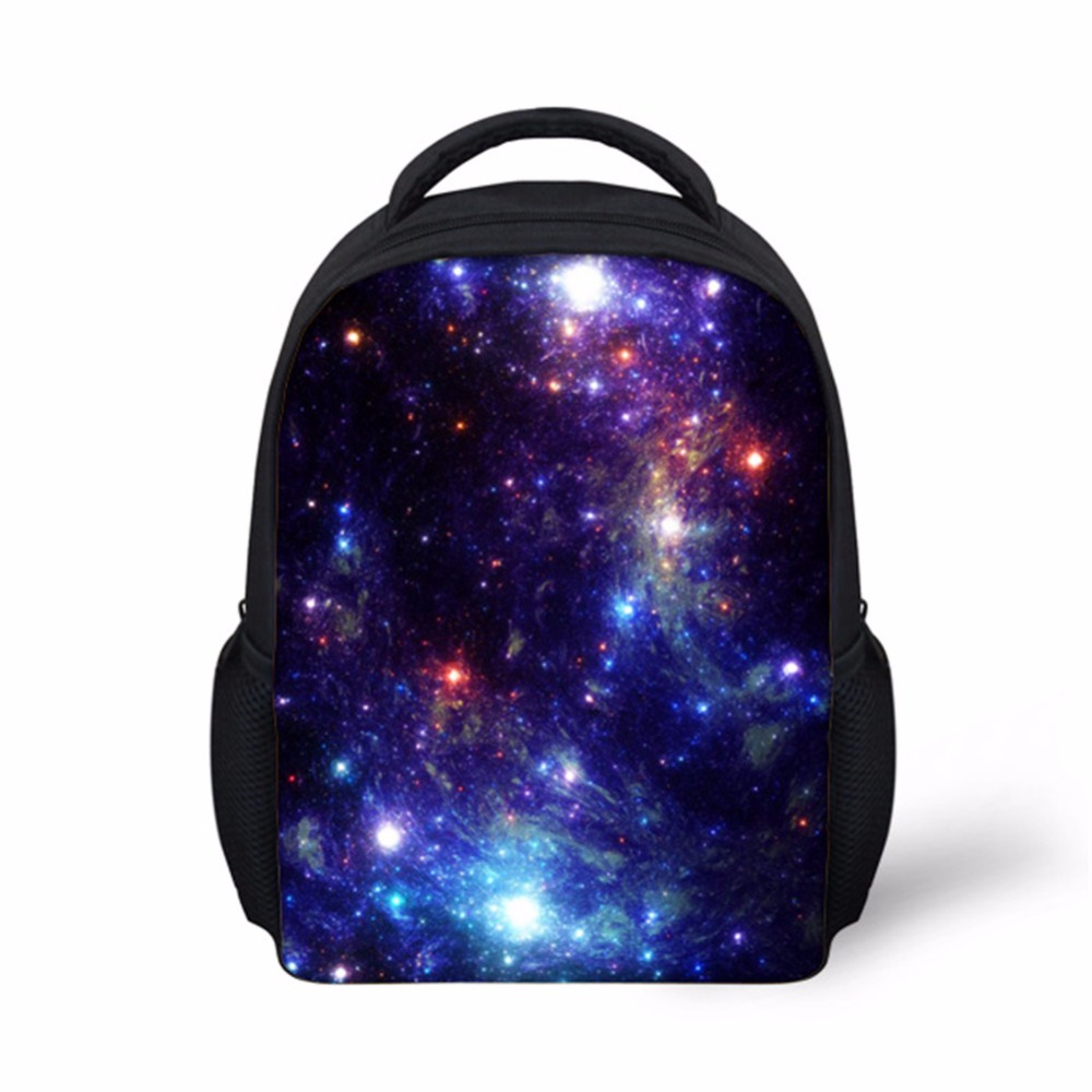 Customized Images Girl Beauty Nebula School Bags Children Mochila Infantil Kindergarten Baby School - 32890203404