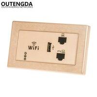 300 Mbps 118 UNS-standard Wand Wireless AP für Hotel Domitory Büro Zimmer USB Ladung Access Point Sockel WiFi extender Router