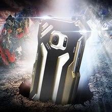 R-JUST Gundam for samsung galaxy S7 S7 edge case Original Design Armor Shell Metal Aluminum protection phone shell case