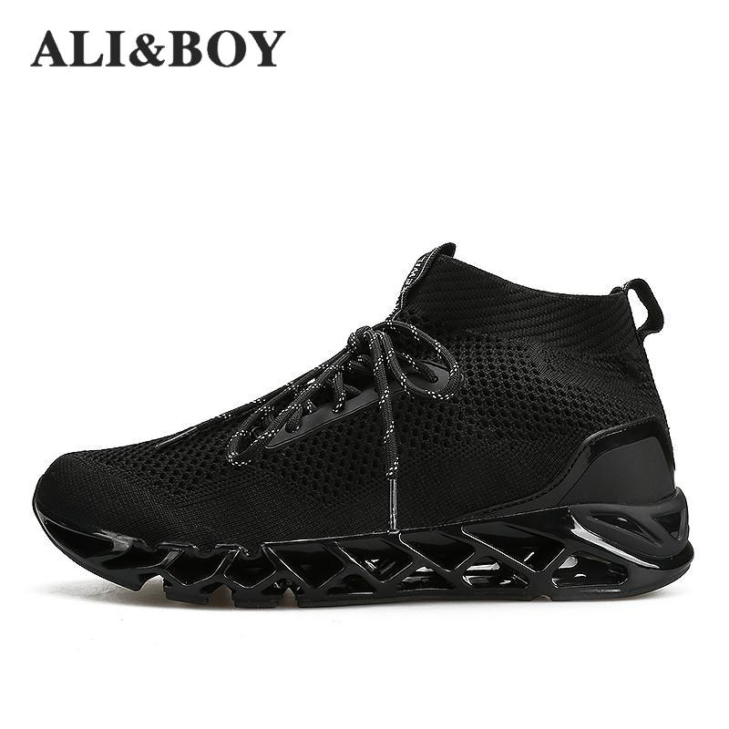 Running Shoes Genteel 2018 Man Sneakers Running Shoes Summer Superstar Shoes Top Quality Outdoor Jogging Breathable Mens Sneakers Krasovki With A Long Standing Reputation