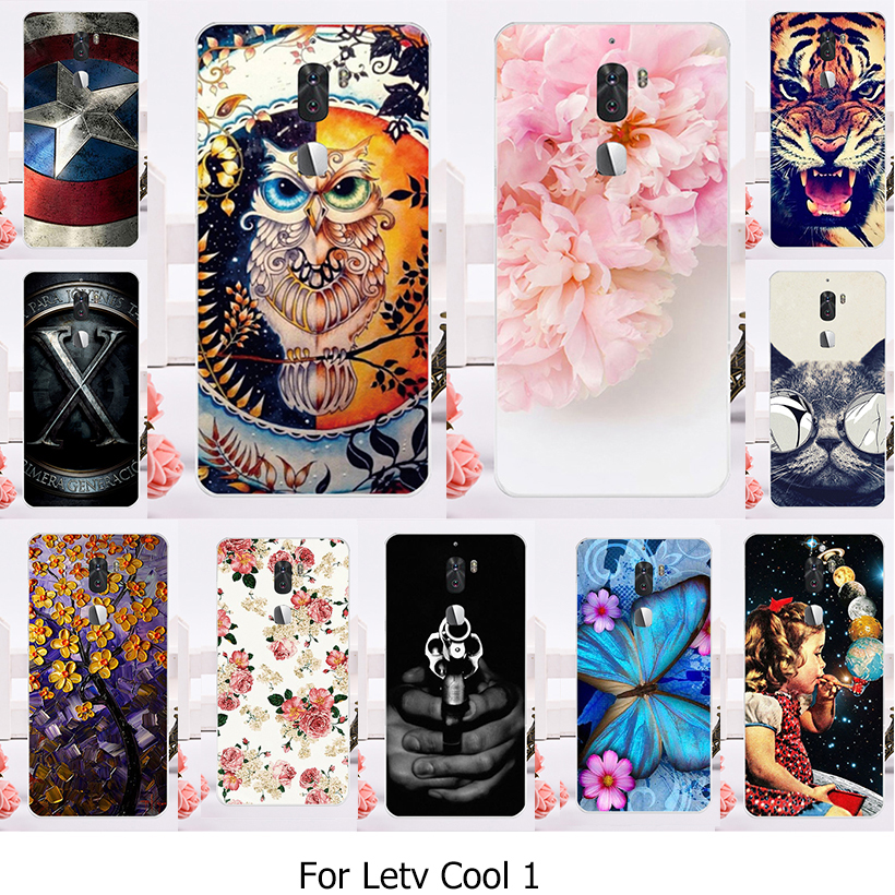 Galleria fotografica TAOYUNXI Phone Cases For Letv Cool 1 Letv LeEco cool 1 Dual Leeco Coolpad Cool1 5.5 inch Case Soft TPU Silicone Back <font><b>Cover</b></font>