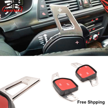 Free shipping Aluminum Steering Wheel Shift Paddles For A3 A4L A5 A6 A8 S5 Q5 Q7 TT laptop bag