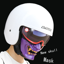 2017 new Halloween Motorcycle Halley helmet skull mask Personality mask Than Iron Man Predator shark  mask high grade