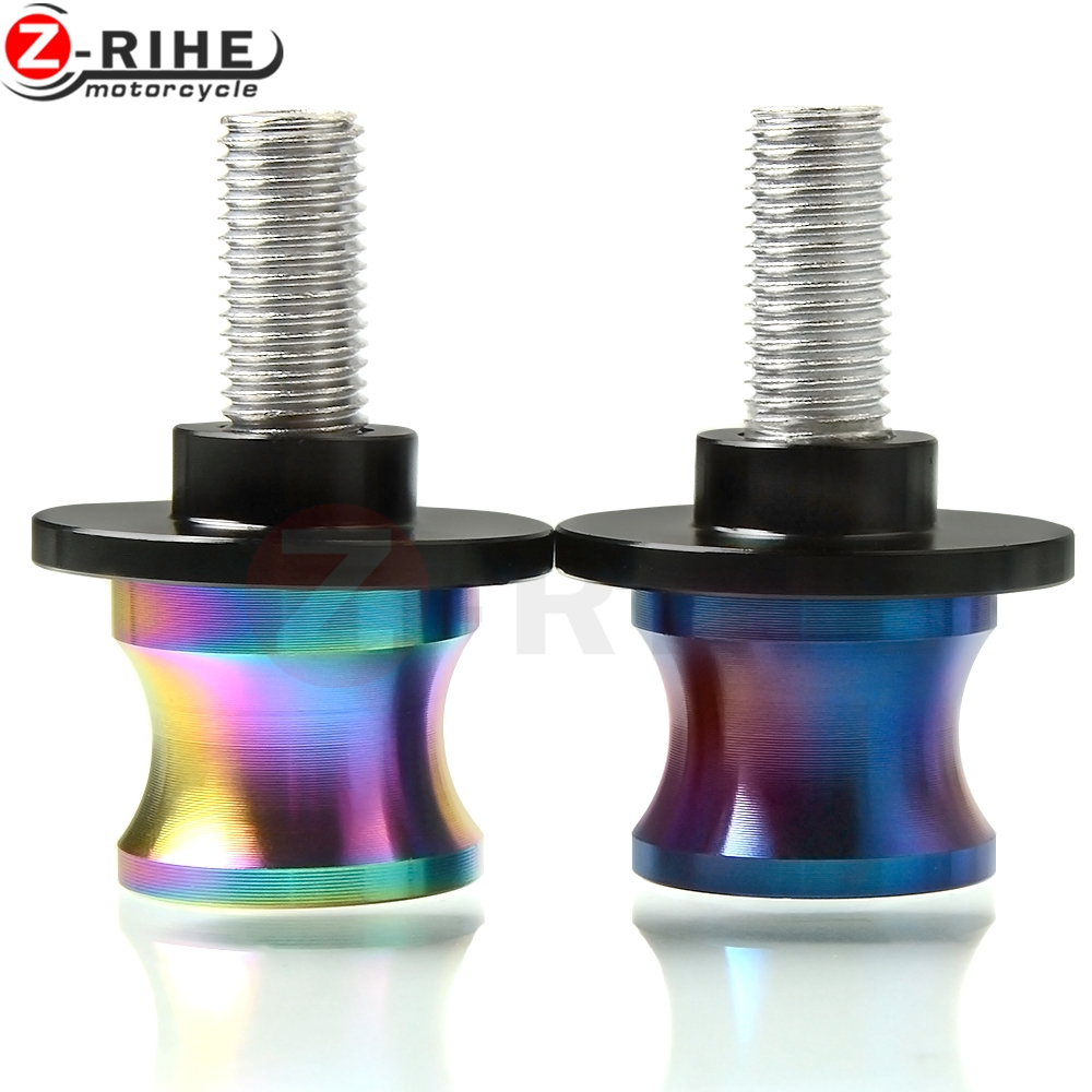6/8/10mm Motorcycle <font><b>Accessories</b></font> Swingarm Spools Slider Stand Screw for For <font><b>Yamaha</b></font> Fazer 600 FZ6S <font><b>FZ6N</b></font> FJ-09 FJR 1300/ES TDM 900 image