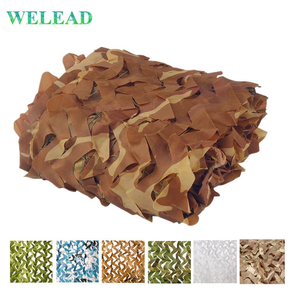 WELEAD 2x8 filet de Camouflage renforcé pour Gazebo jardin abri soleil ombrage Photo Camoflage filets armée Camo entraînement blanc Carport