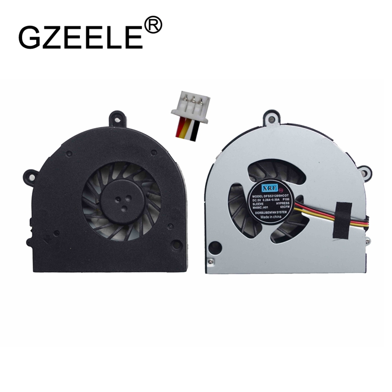 GZEELE nouvel Ordinateur Portable cpu ventilateur de refroidissement pour Toshiba Satellite C660 C650 P775 A660 A660D A665 A655D L675 L675D P750 P750D P755D L670