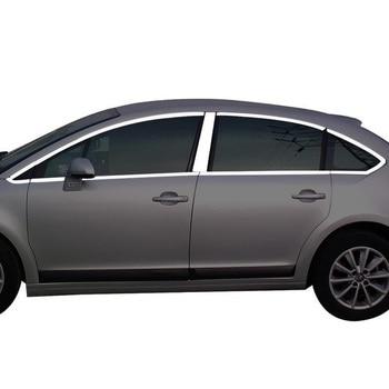 Auto décoratif corps fenêtre porte poignée extérieur voiture style couvre 08 09 10 11 12 13 14 15 16 18 19 pour Citroen c-quatre