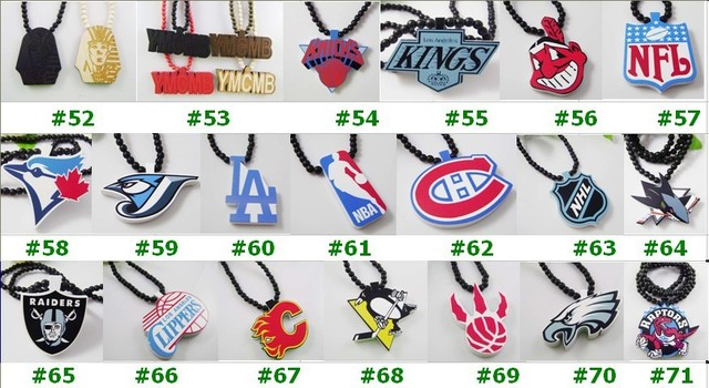 BIG SALE ! New arrival 176 styles goodwood necklace hotsale hip hop styles famaous star lover (10PCS/Lot)