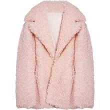 2018 New Style High-end Fashion Women Faux Fur Coat S29