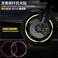 Дух Зверя колеса мотоцикла Углеродного волокна Отражающие наклейки очень холодный вводить в моду