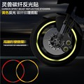 Spirit Beast motorcycle wheel Carbon fiber Reflective sticker very cool styling