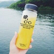 500ml HP Water Bottle Breakproof Environmentally bottle Sport Cycling Camping Readily Space Health Lemon Juice Make Water Bottle