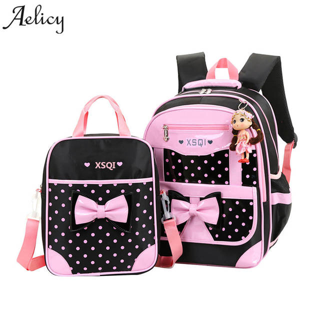 Aelicy Girl's School Bags Backpacks Children Schoolbags For Girl Backpack Kids Book Bags Cute Backpacks school bag mochila