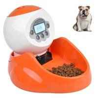 Petacc 2.2lb High quality Pet Feeder Automatic Dog Food Dispenser Cat Feeder with Clear LCD Screen, Portion Control