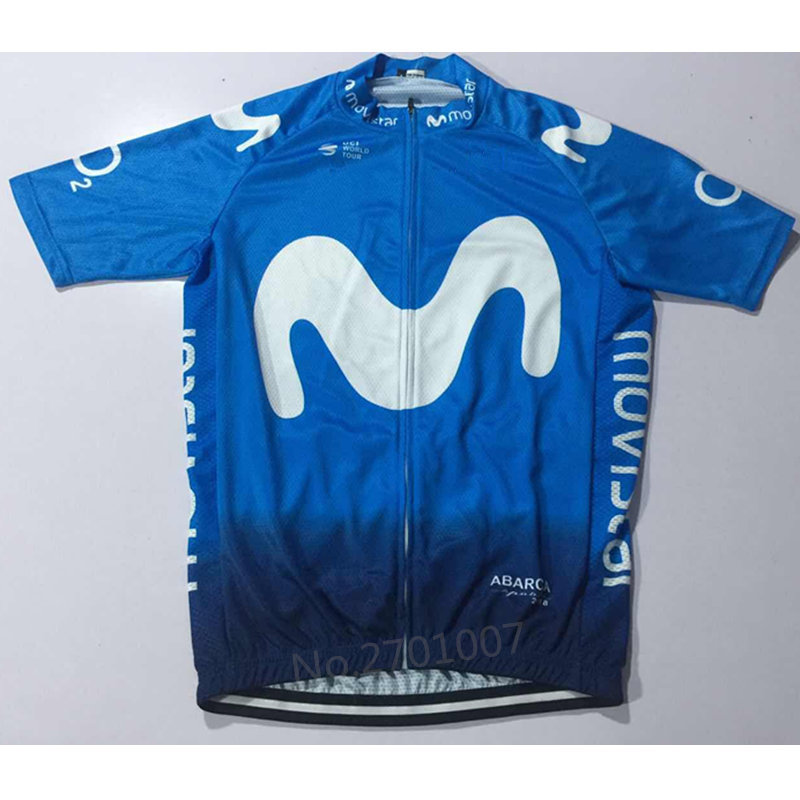 fb8220b97 2018 EUROPE TOUR movistar team Spanish Professional champion ciclismo ropa  ciclismo cycling jersey High quality Customizable-in Cycling Jerseys from  Sports ...