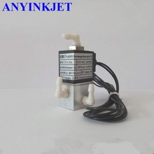 UV valve 3 Way uv Solenoid Valve for Myjet JNF UV format printer цена