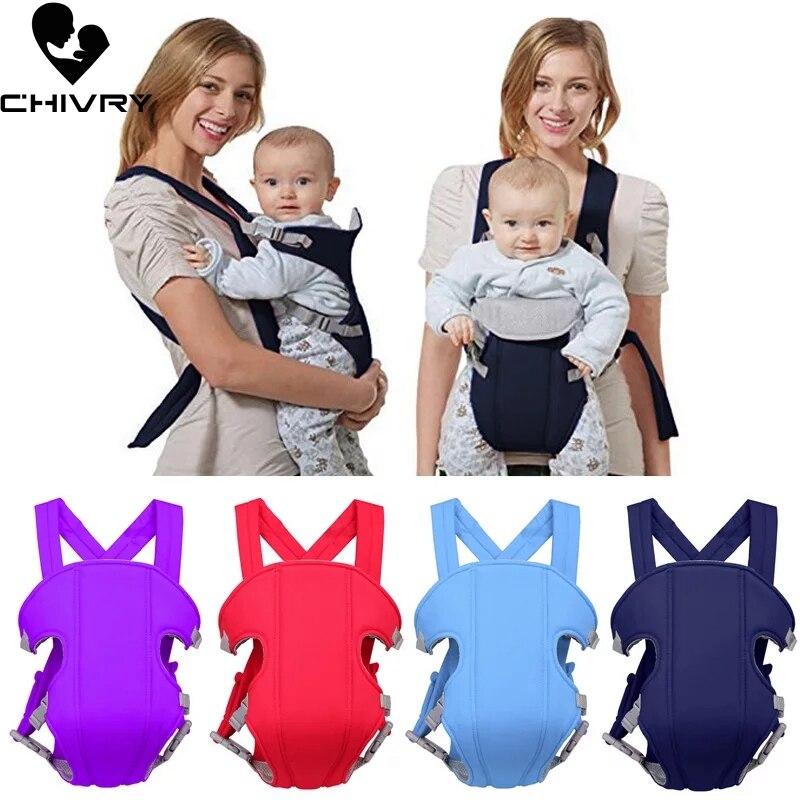 Chivry Atmungsaktive Vorne Baby Carrier Komfortable Sling-Rucksack Pouch Wrap Baby Känguru Einstellbare Sicherheits Träger