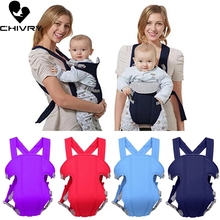Chivry Breathable Front Facing Baby Carrier Comfortable Sling Backpack Pouch Wrap Baby Kangaroo Adjustable Safety Carrier все цены