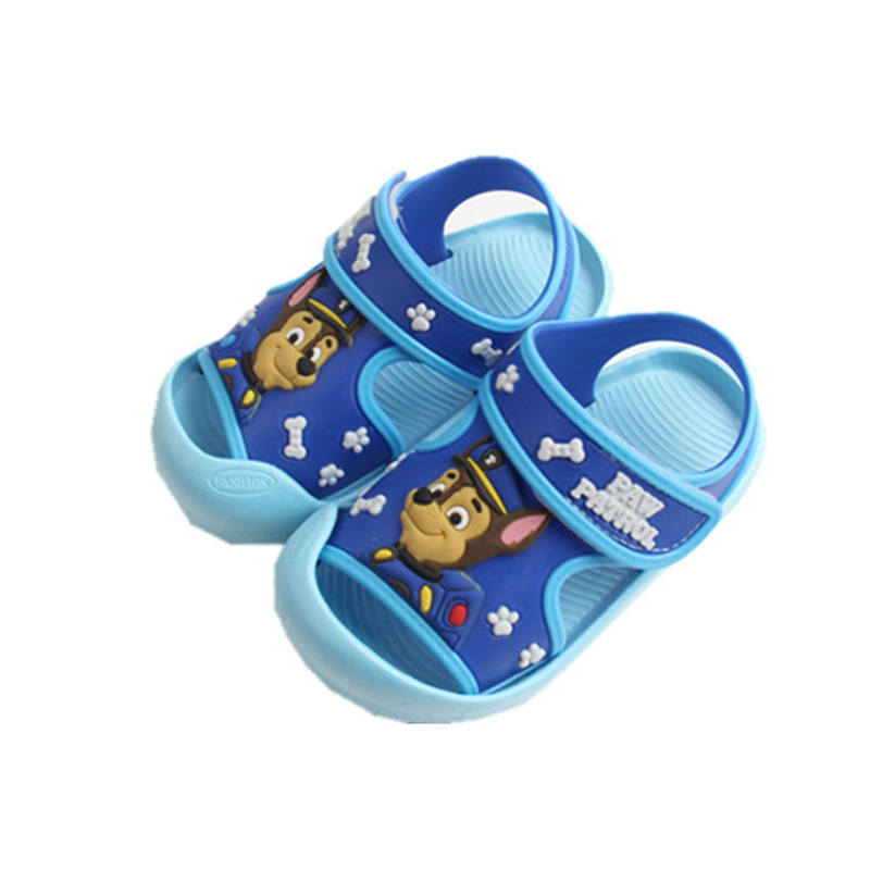 PAW PATROL 2019 Summer Children Shoes Comfortable Soft Baby Sandals Boys Girls Beach Non-slip Shoes  Kids Sandals