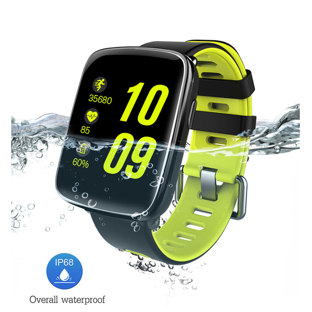 2017 New GV68 Smart Watch Waterproof IP68 Swim Smartwatch Heart Rate Monitor Message Call Reminder Remote Camera