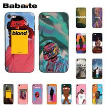 Babaite Frank Ocean Blonde Phone Case for iphone 11 Pro 11Pro Max X XS MAX 6 6s 7 7plus 8 8Plus 5 5S SE XR(China)