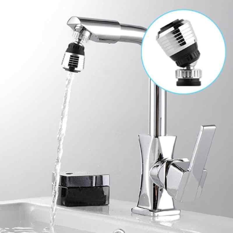 Cocina 360°grifo giratorio Bubbler a prueba de salpicaduras grifo Universal de ahorro de agua boquilla grifo de Ducha