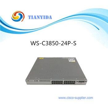 Catalyst 3850 24 Port POE Gigabit Switch WS-C3850-24P-S