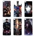 Прохладный Marvel Герой Капитан Америка Телефон Дело Чехол Для Huawei Ascend P8 P6 P7 P8 P9 Lite Lite Мини Жесткий Защитный Назад случае