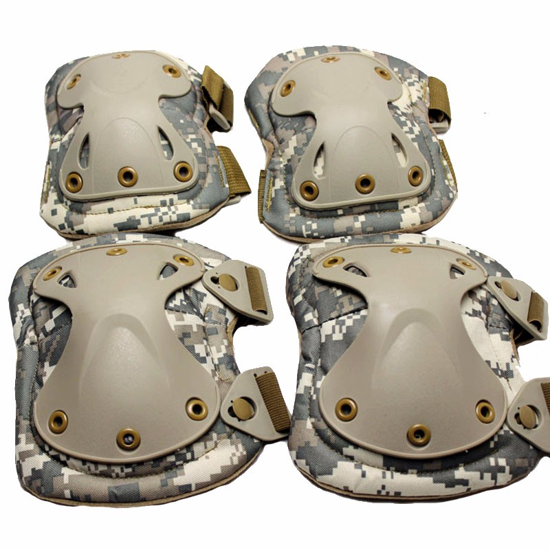 900D Military Tactical Protective Knee Pad Elbow Support Airsoft Paintball Combat Knee Protector Hunting Skate Scooter Kneepads 4pcs set adult tactical combat protective pad set gear sports military knee elbow protector elbow