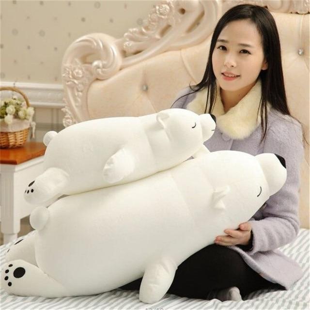 Плюшевая игрушка Белый медведь 45 см 2