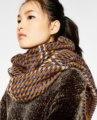 2016 Winter Scarf Cuadros Brown Houndstooth Sciarpe Design Soft Blanket Cashmere Acrylic Basic Foulard Women's Big Size Scarves