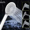 Hm mano multifunción cabezal de ducha cabezal de ducha 3 función chuveiro douchekop niebla tres agua ronda de ducha de mano rociador de la mano