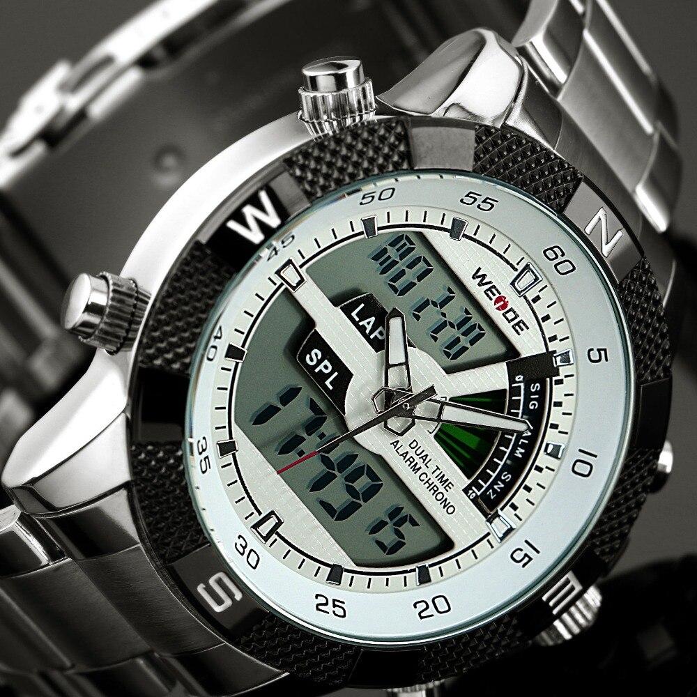 2016 new watches luxury brand weide s quartz led